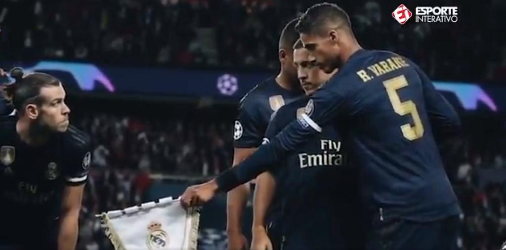 Dziwne zachowanie Garetha Bale'a przed meczem Ligi Mistrzów