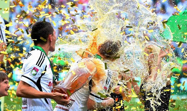 Legia Warszawa mistrzem Polski 2012/13