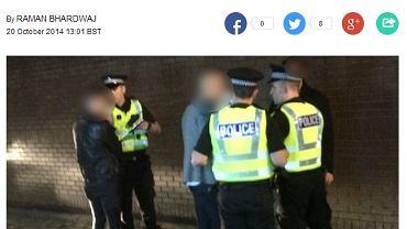 Szkockie media poinformowały o incydencie z Załuską