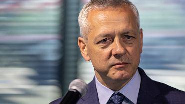 Minister cyfryzacji Marek Zagórski