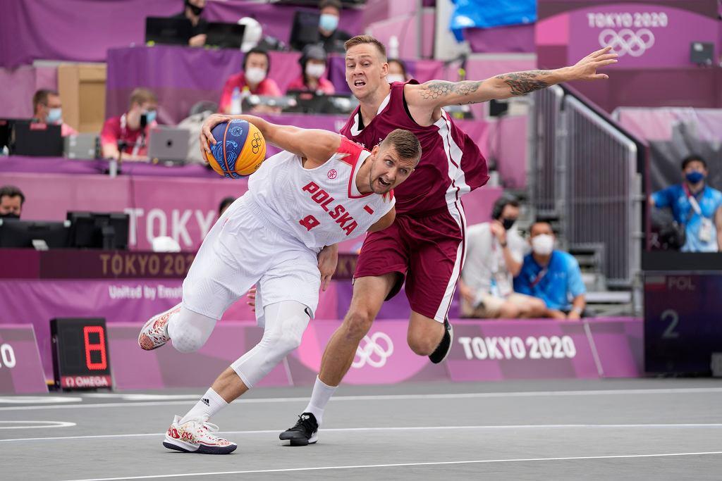 Polska-Łotwa, koszykówka 3x3