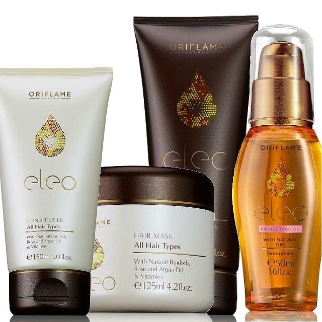 Nowa seria do pielęgnacji włosów Oriflame zawierająca drogocenne olejki
