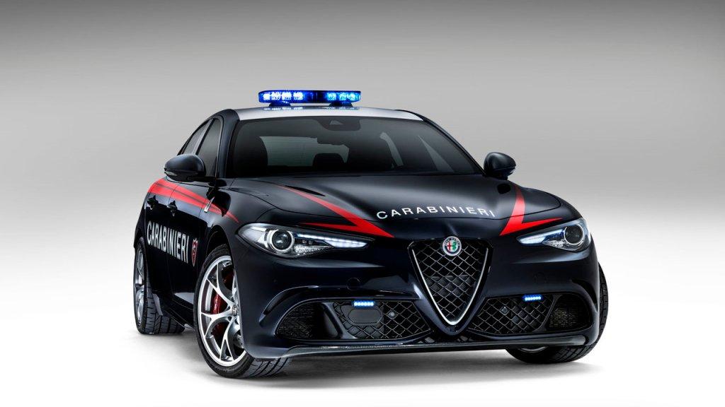 Radiowóz Alfa Romeo Giulia QV