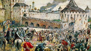 Pewnego razu w Moskwie. Polacy okupowali Kreml w latach 1610-12, gdy Zygmunt III Waza próbował przejąć moskiewski tron. Skończyło się jednak wypędzeniem