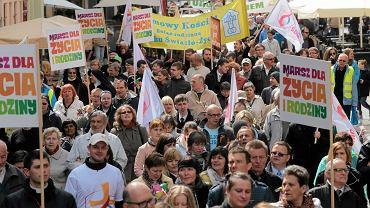 Marsz dla Życia i Rodziny w Toruniu