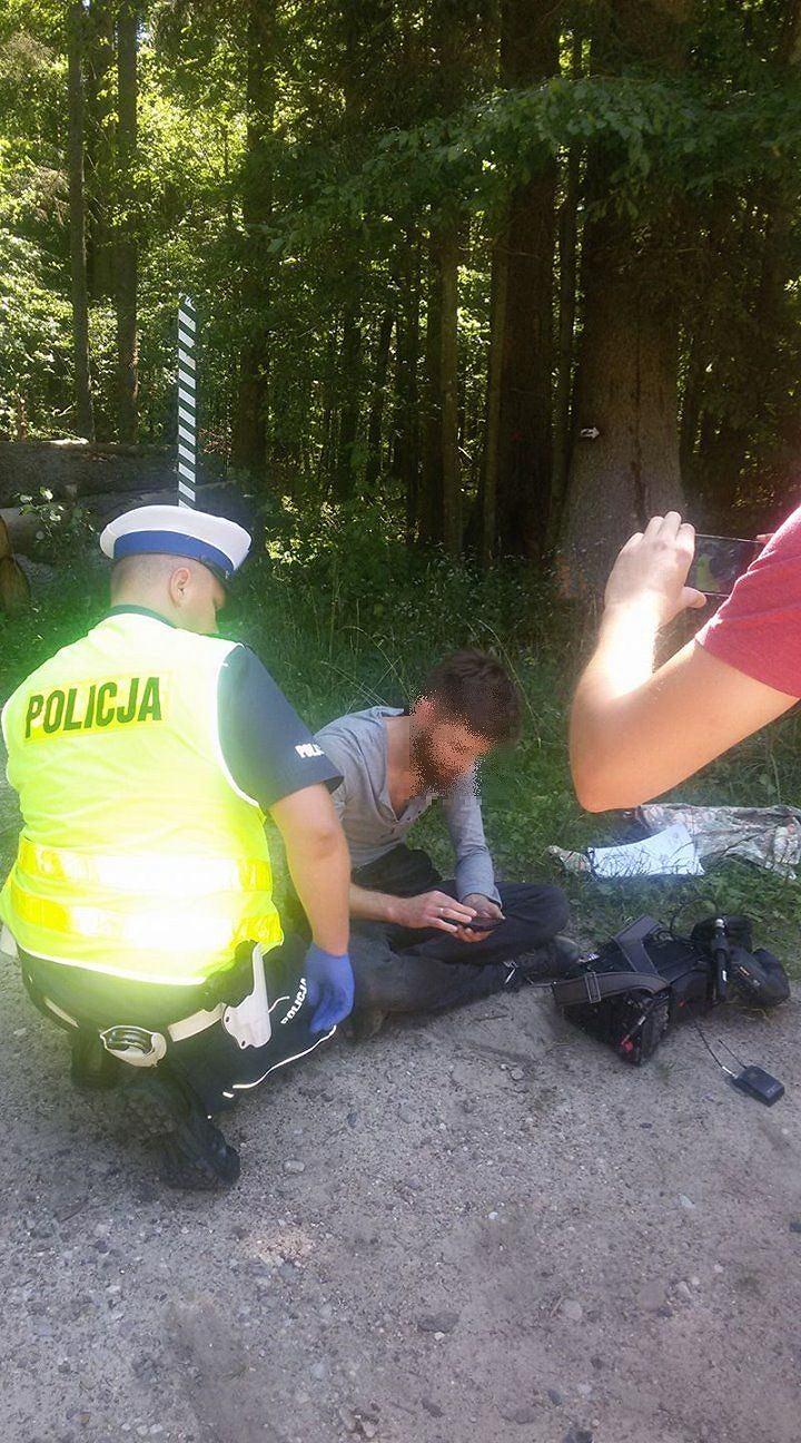 Pobity operator Polsatu