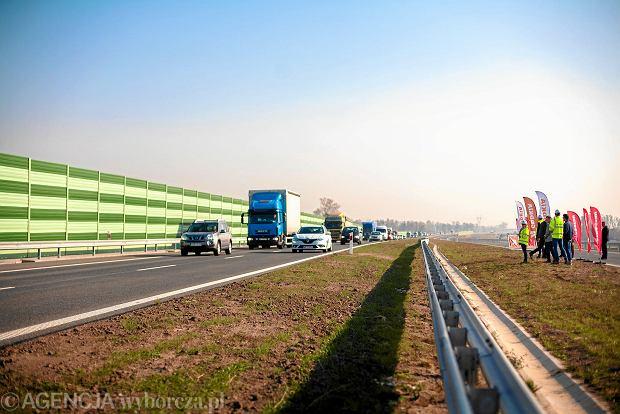 Kolejne kilometry S7 dostępne dla kierowców