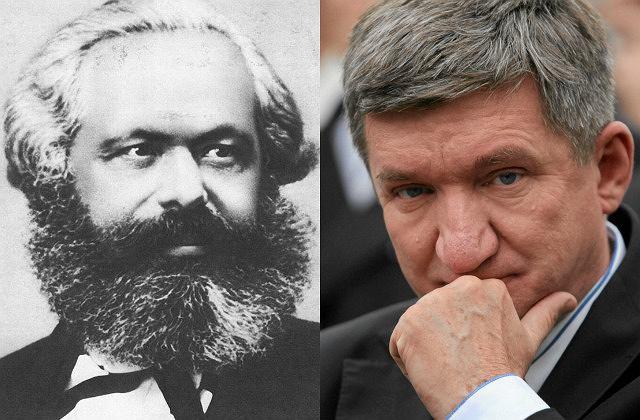 Karol Marks i Jerzy Wenderlich