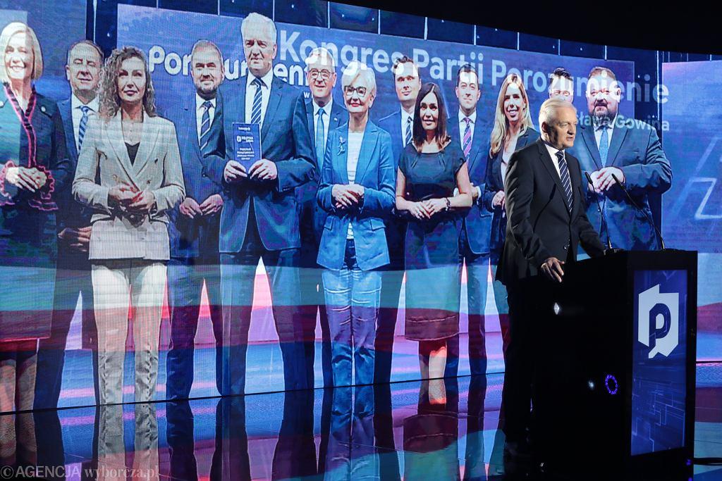 27.06.2021, Warszawa, kongres wyborczy Porozumienia