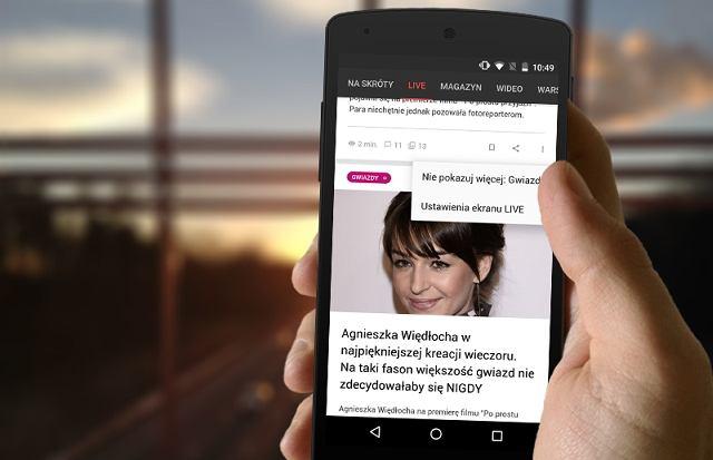 Sprawdź najnowszą wersję BETA aplikacji Gazeta.pl LIVE