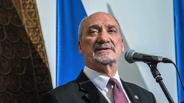 Minister obrony narodowej Antoni Macierewicz (fot. Franciszek Mazur / Agencja Gazeta)