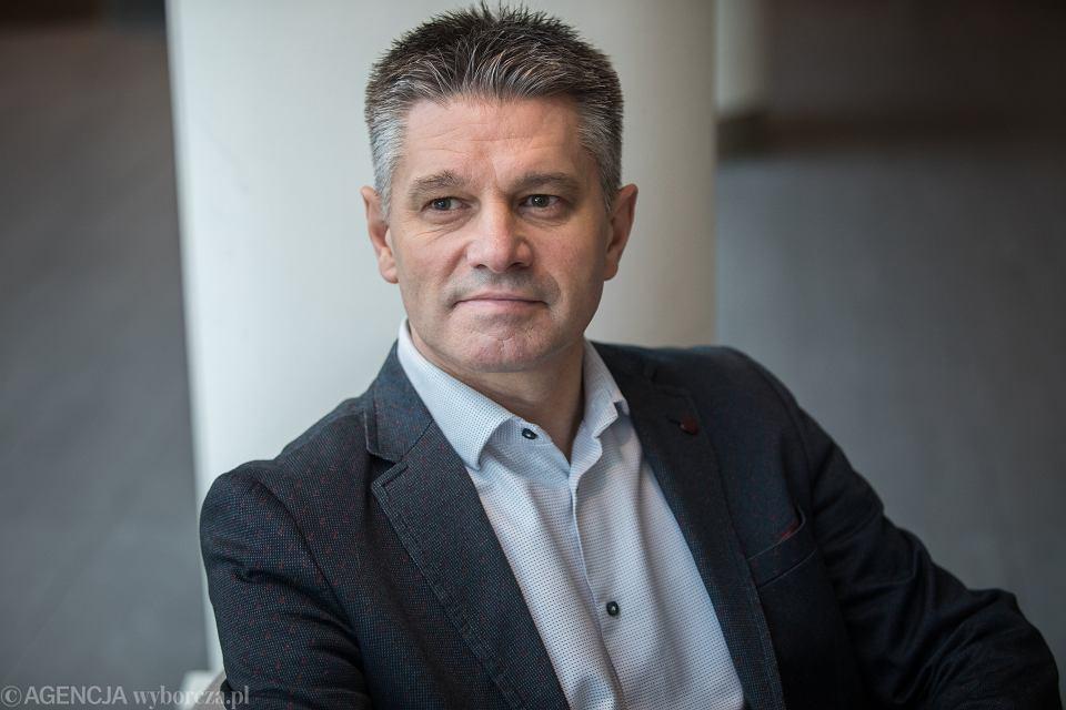 Jacek Kapica - były podsekretarz stanu w Ministerstwie Finansów. Warszawa, 21 grudnia 2018
