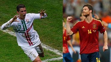 Cristiano Ronaldo i Xabi Alonso: to oni wprowadzili swoje zespoły do półfinałów.