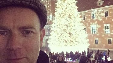 Ewan McGregor w Warszawie