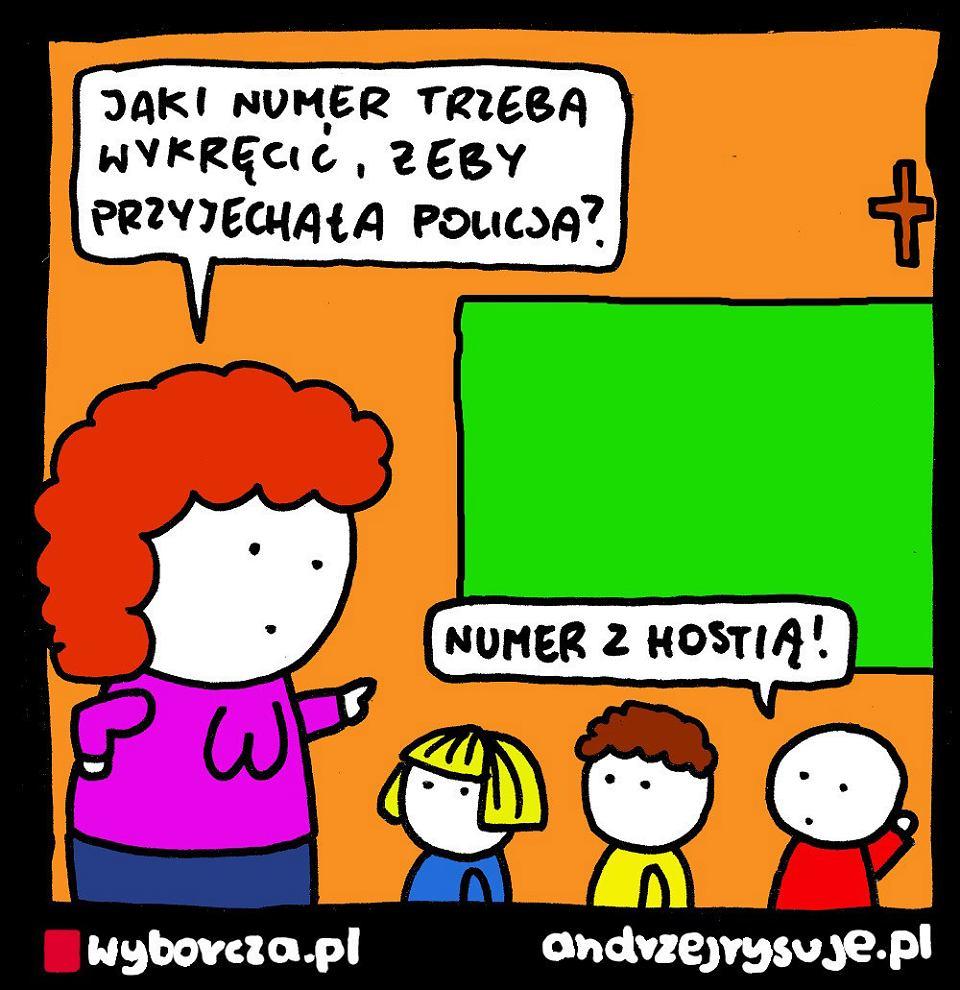 Andrzej Rysuje | HOSTIA  - Andrzej Rysuje, 03.11.2019 - null