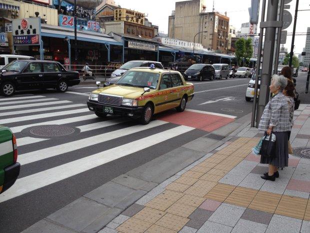 Tokijska taksówka (Fot. Marcin Kosman)