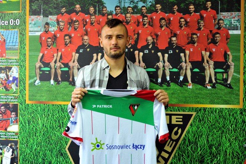 Jakub Wilk po podpisaniu umowy z Zagłębiem
