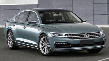 Render Volkswagena Phaetona II generacji
