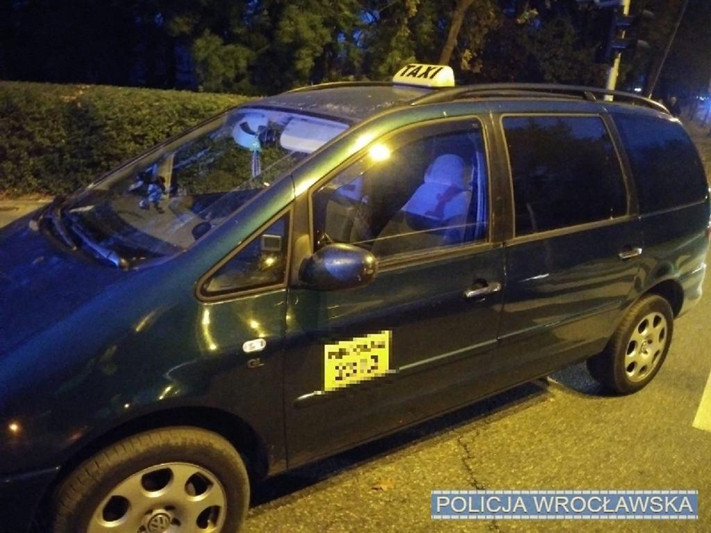 Po Wrocławiu krążyła fałszywa taksówka