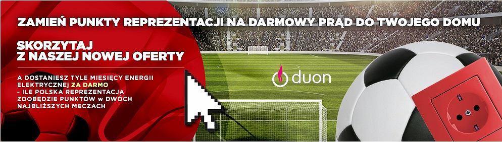 Piłkarska promocja firmy Duon
