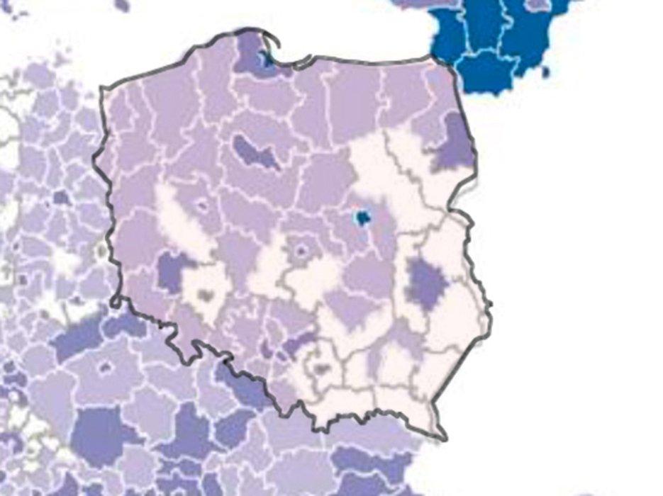 Nie wszyscy mieszkańcy Polski mają zapewniony dostęp do szybkiego internetu