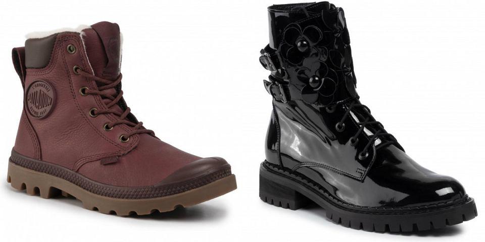 Trapery damskie wygodne i stylowe buty na chłodne dni