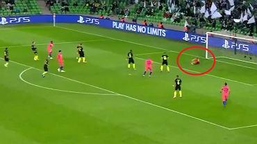 Gol w meczu Krasnodar - Chelsea