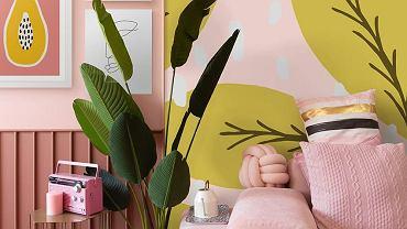 Tapeta z motywami roślinnymi