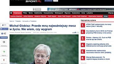 Czytelnicy, Michał Globisz