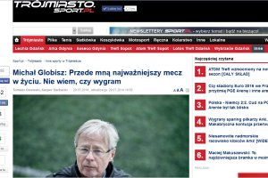"""Czytelnicy Sport.pl wspierają Michała Globisza. """"Jest Pan wielkim człowiekiem i trenerem"""", """"Życzymy zdrowia"""", """"Jeszcze będzie Pan trenerem Realu"""""""
