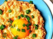Jajeczno-serowe gniazdka - ugotuj