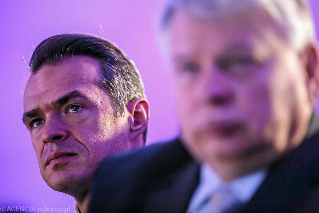 Sławomir Nowak (z lewej) i Bogdan Borusewicz