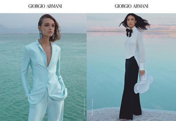 Giorgio Armani - kampania wiosna-lato 2019