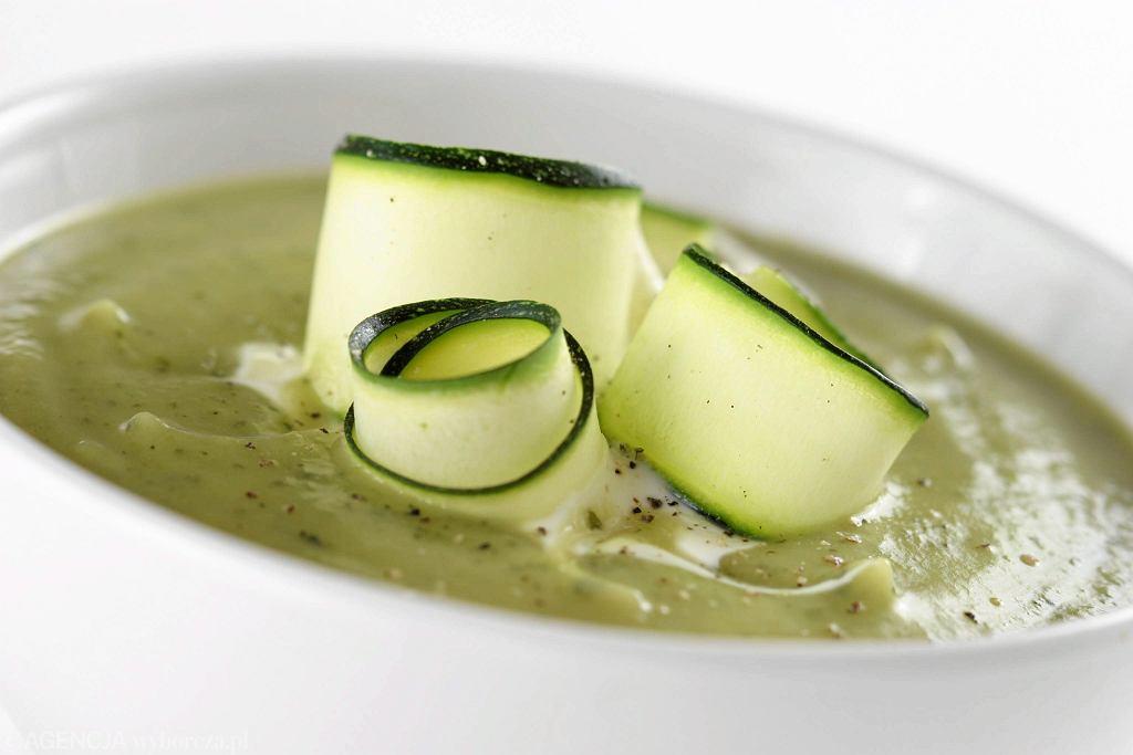 Zupa z cukinii (zdjęcie ilustracyjne)
