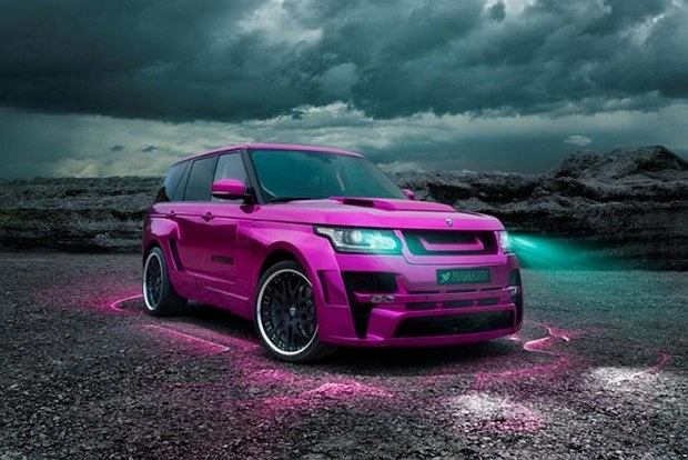 Range Rover od Hamanna