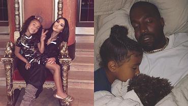 Kim Kardashian wrzuciła fotkę z North, która zaczyna przypominać Kanye. Spójrzcie tylko na zęby