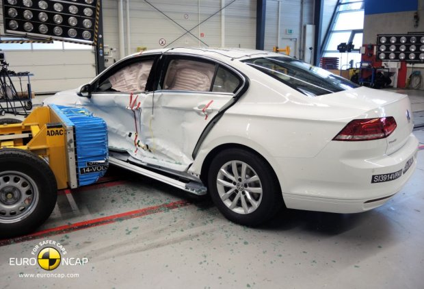 Volkswagen Passat (fot. Euro NCAP)