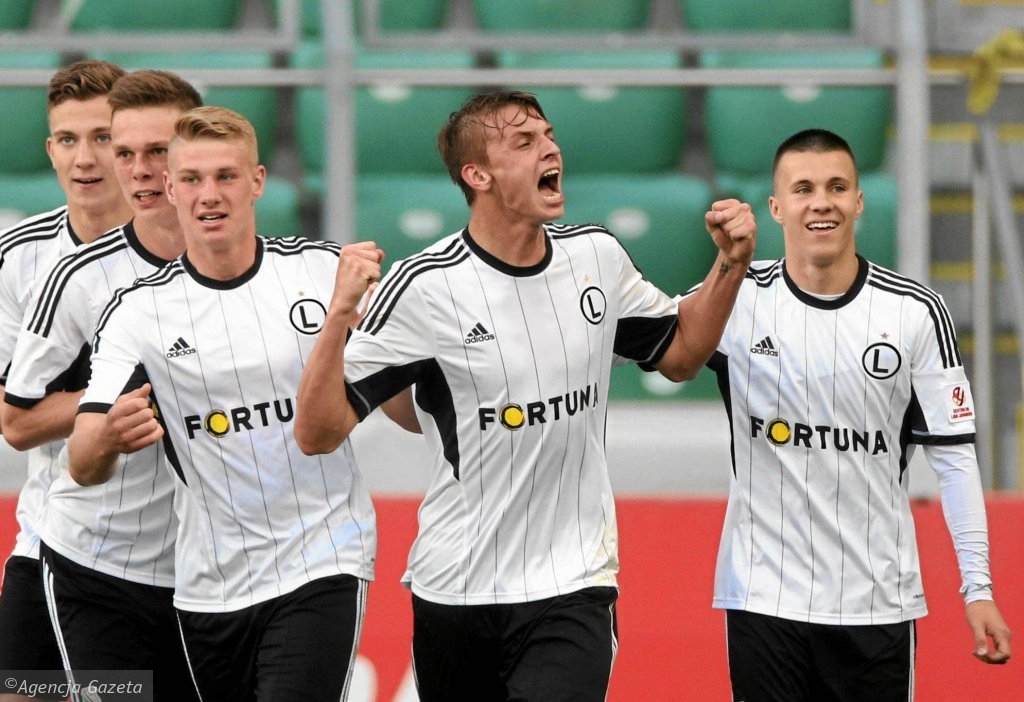 Finał Centralnej Ligi Juniorów: Legia Warszawa - Lech Poznań 3:0