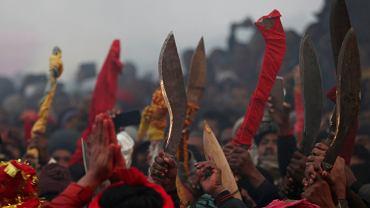 Nepal. Pomimo protestów rozpoczęła się masowa rzeź zwierząt. Trwa Festiwal Gadhimai