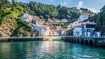 Cudillero, un charmant village de pêcheurs dans les Asturies espagnoles.