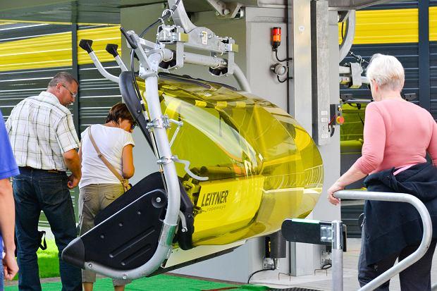 Zdjęcie numer 9 w galerii - Zmodernizowana kolejka na Skrzyczne już wozi pasażerów (ZDJĘCIA)