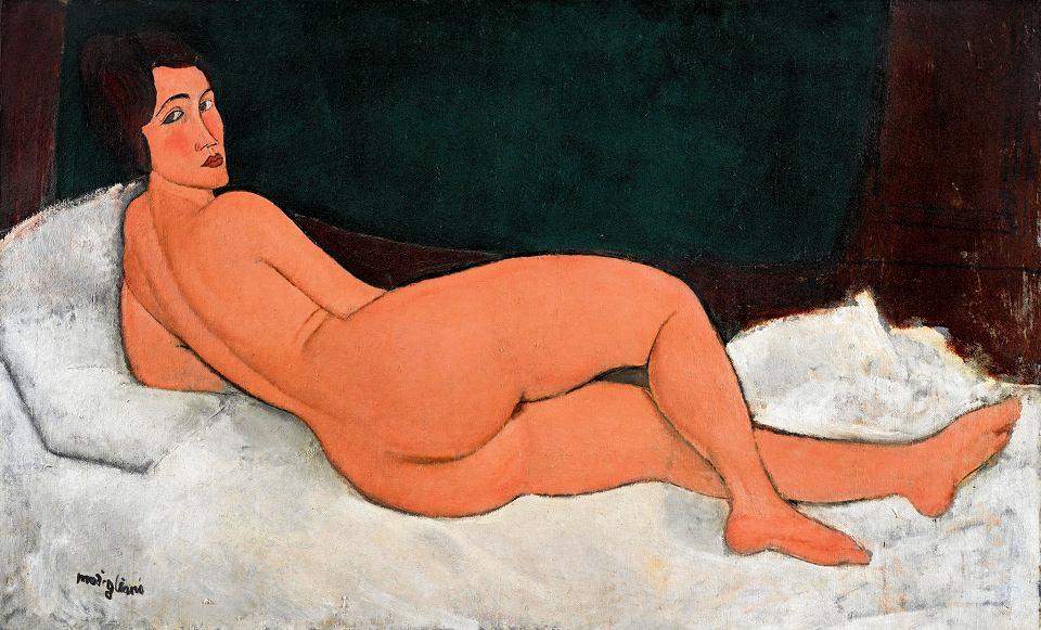 Akt Leżący Modiglianiego Sprzedany Za Ponad 157 Mln Dolarów