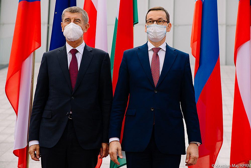 Mateusz Morawiecki i Andrej Babis