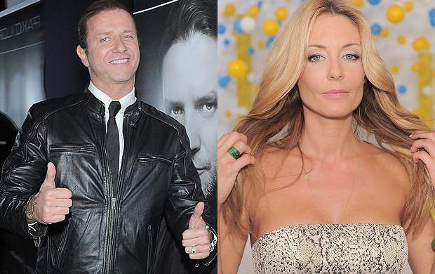 Radek Majdan i Małgorzata Rozenek
