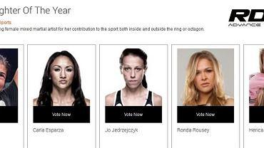 Joanna Jędrzejczyk nominowana do World MMA Awards