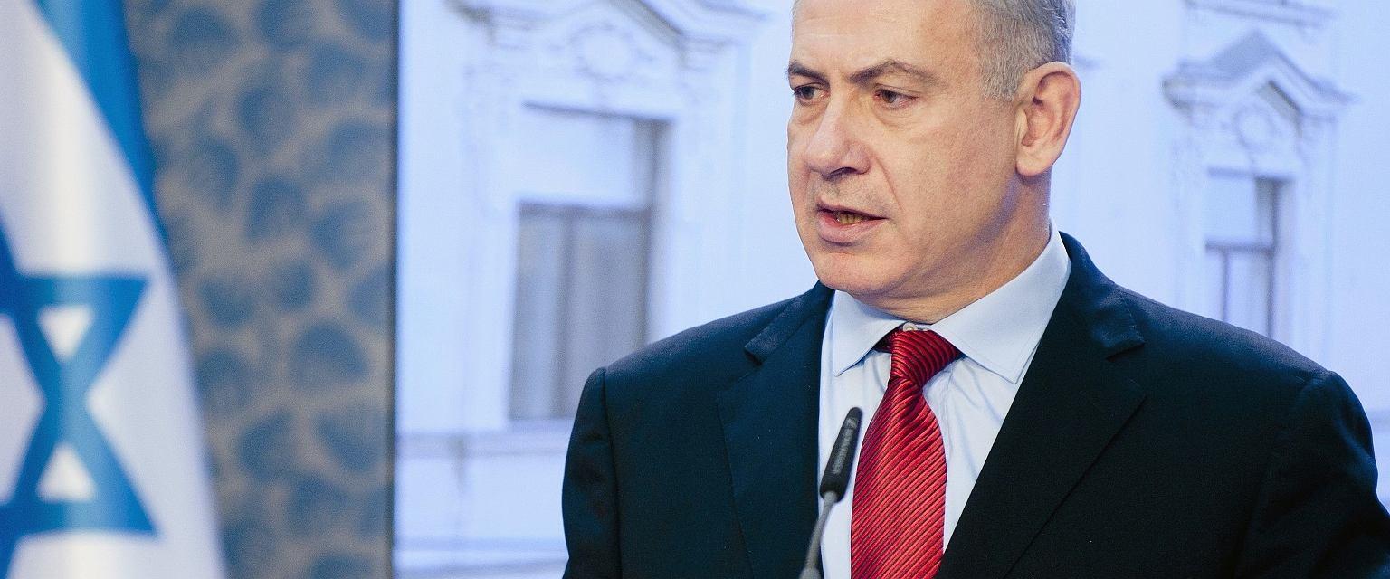 Beniamin Netanjahu podczas wizyty w Pradze, 5 grudnia 2012 r. (fot. Shutterstock)