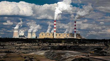 Elektrownia węglowa. Zdjęcie ilustracyjne.