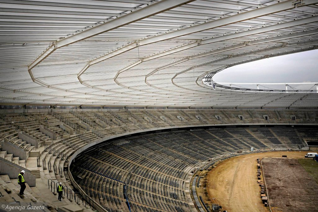 Na Stadionie Śląskim w Chorzowie odliczają już miesiące i dni do hucznego otwarcia