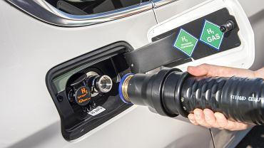 Ogniwa paliwowe zastosowane do napędu BMW 5 GT Hydrogen Fuel Cell
