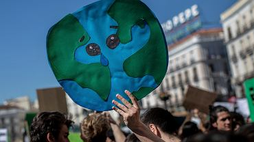 Strajk dla klimatu w Madrycie, 15 marca 2019.